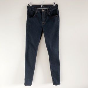 J Brand Maria High Rise Skinny In Starless 29